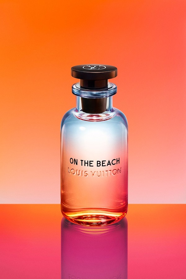 Louis Vuitton On The Beach fragrance with yuzu note