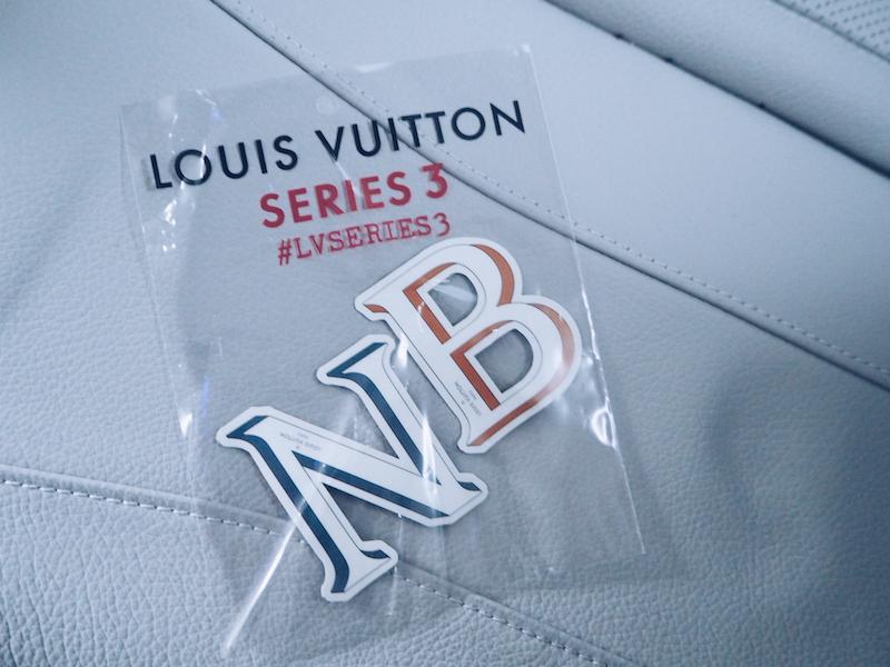 Louis Vuitton Series 3 stickers