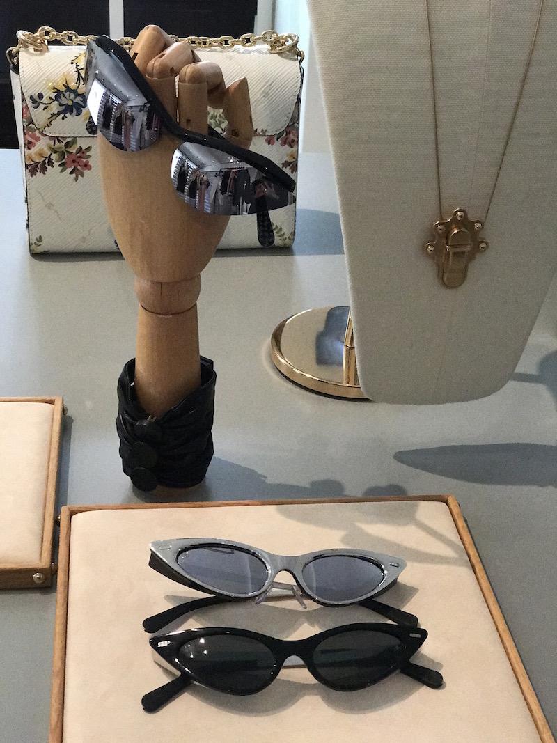 Louis Vuitton ss18 cat eye sunglasses