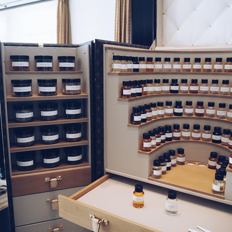 Louis Vuitton eau de parfum raw ingredients