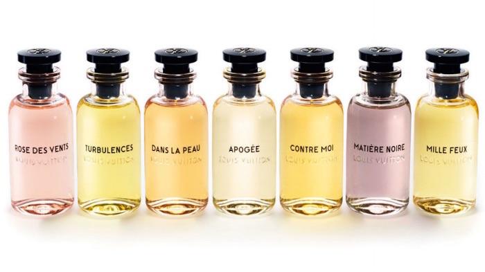 Louis Vuitton fragrance in seven varieties
