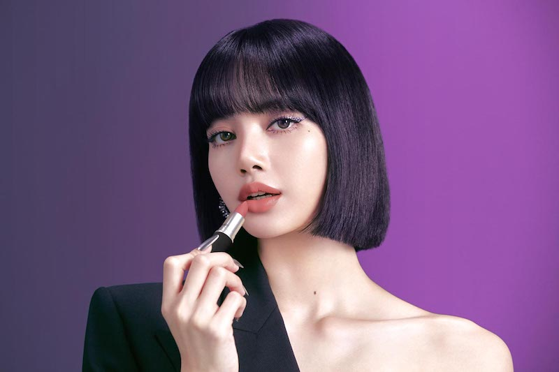 MAC ambassador Lisa Manobal of Blackpink