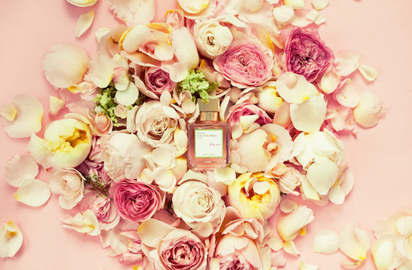Rose scented perfume