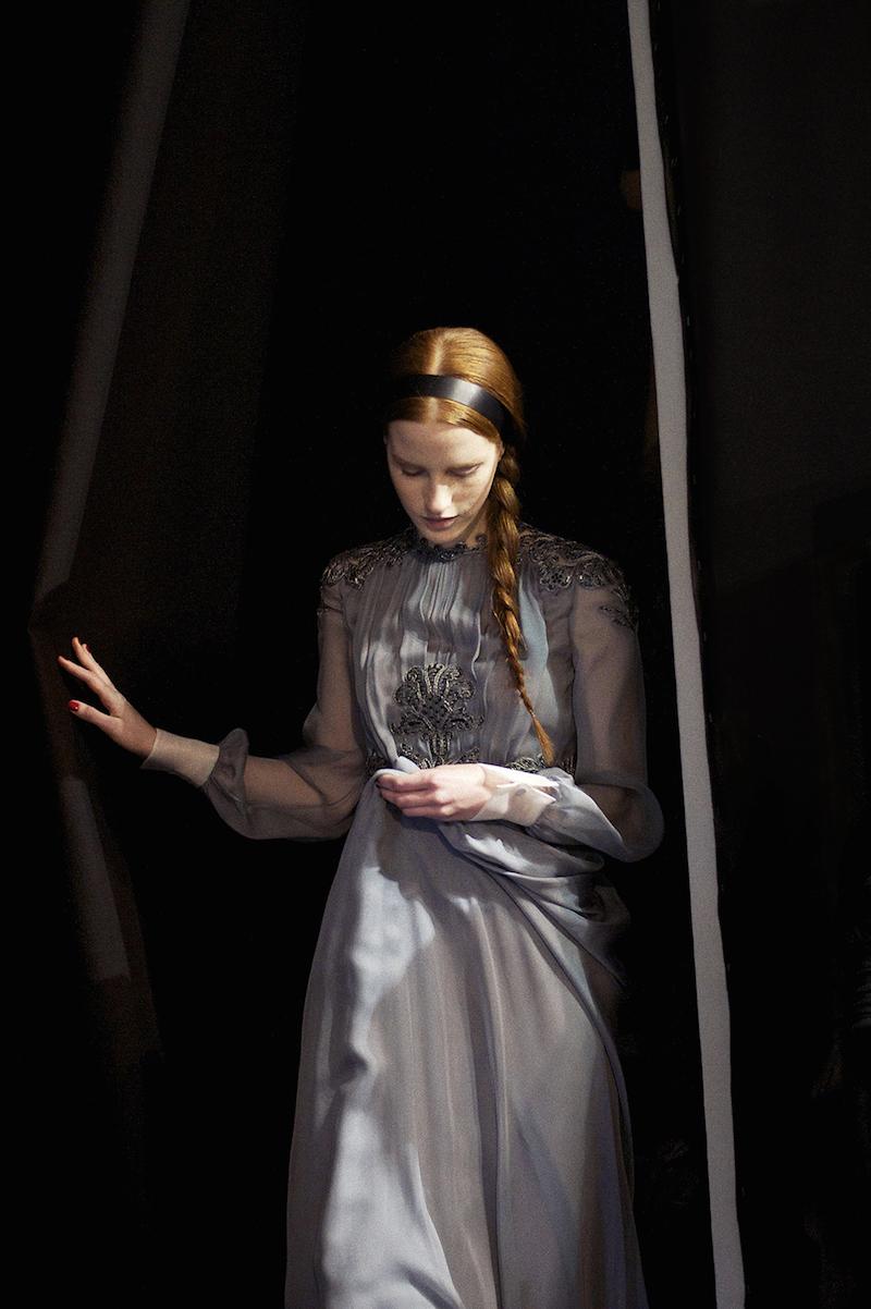 Magdalena Jasek in Valentino by Kasia Bobula