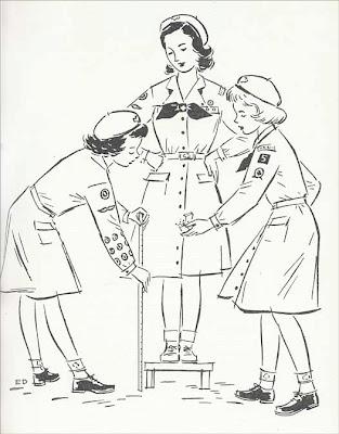 Mainbocher scout uniform