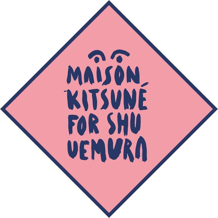 Maision kitsune for Shu Uemura beauty collection coming this autumn