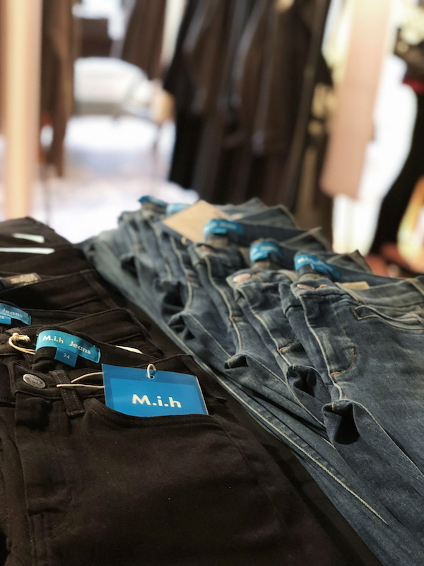 Maiyet Collective pop-up MIH Jeans