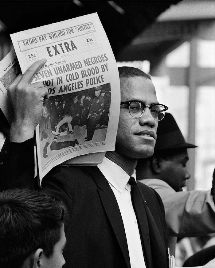 Malcolm X by Gordon Parks
