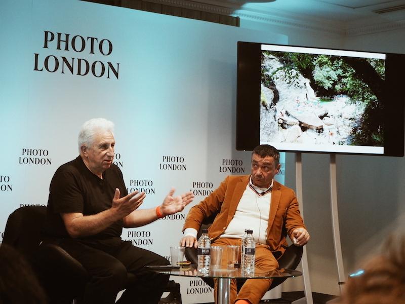 Massimo Vitali talks about his editing process at Photo London