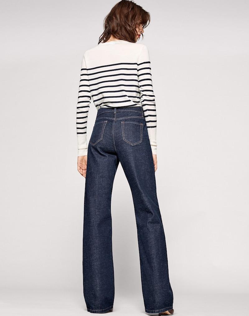 Me+Em smart wide leg jeans