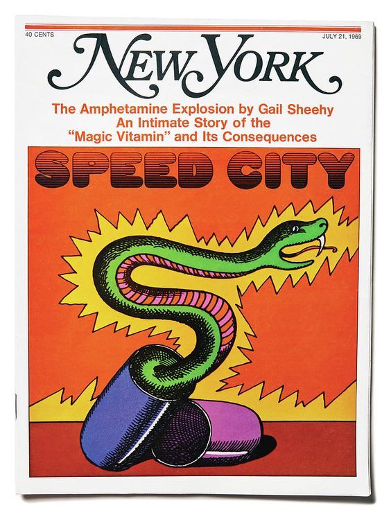 Milton Glaser New York Magazine