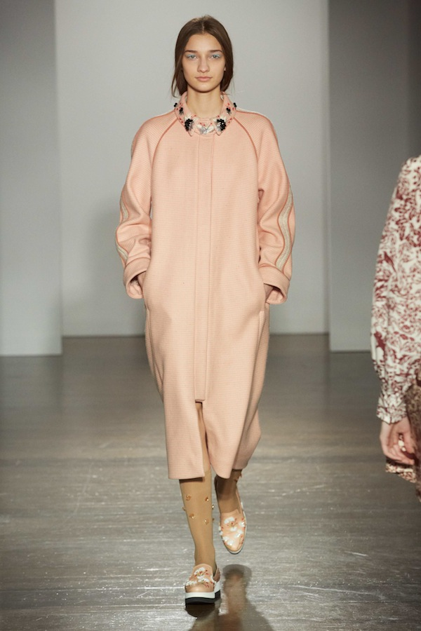 MOTHER OF PEARL AW14 SHOW LONDON