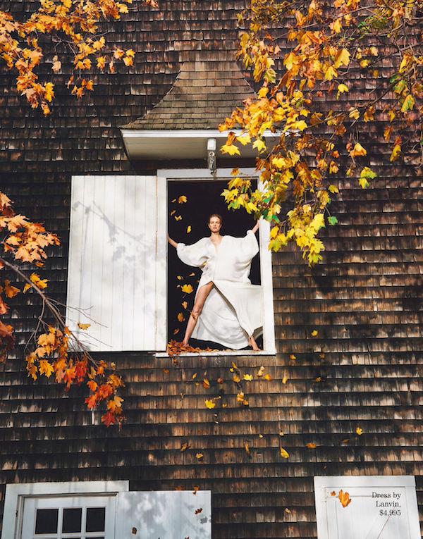 Porter Magazine Ryan McGinley Natalia Vodianova