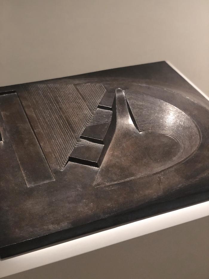 Noguchi bronze model of Play Mountain playground - New York