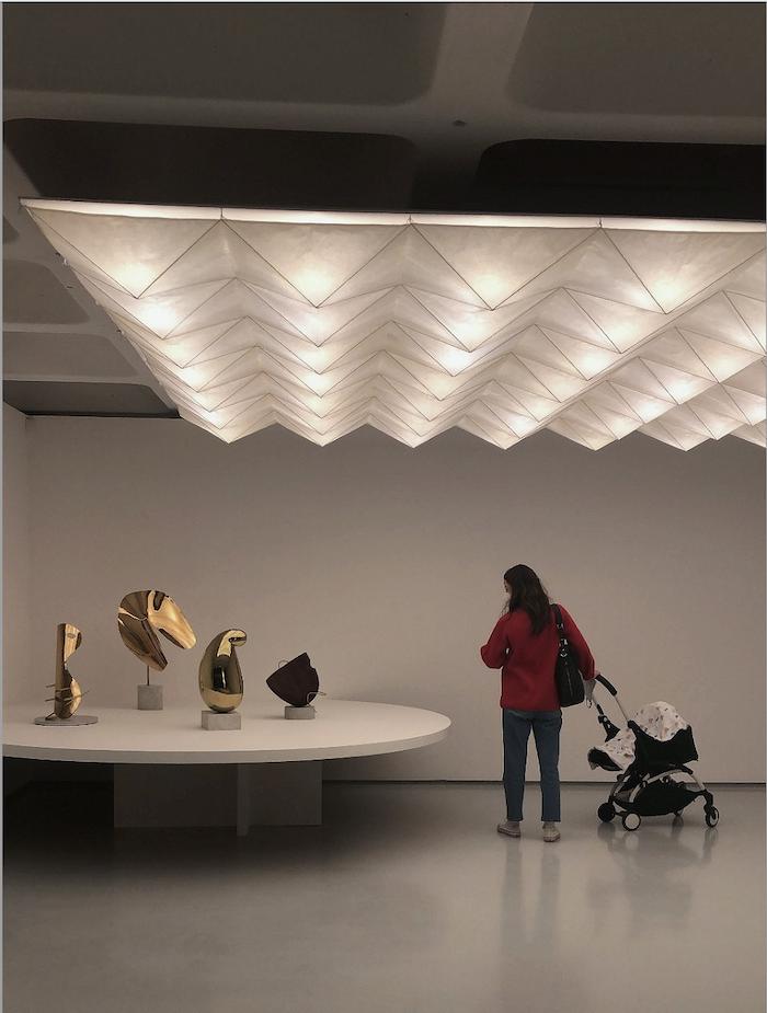 Noguchi sculptures - The Barbican