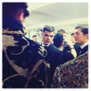 Pat McGrath Dolce & Gabbana aw12 menswear
