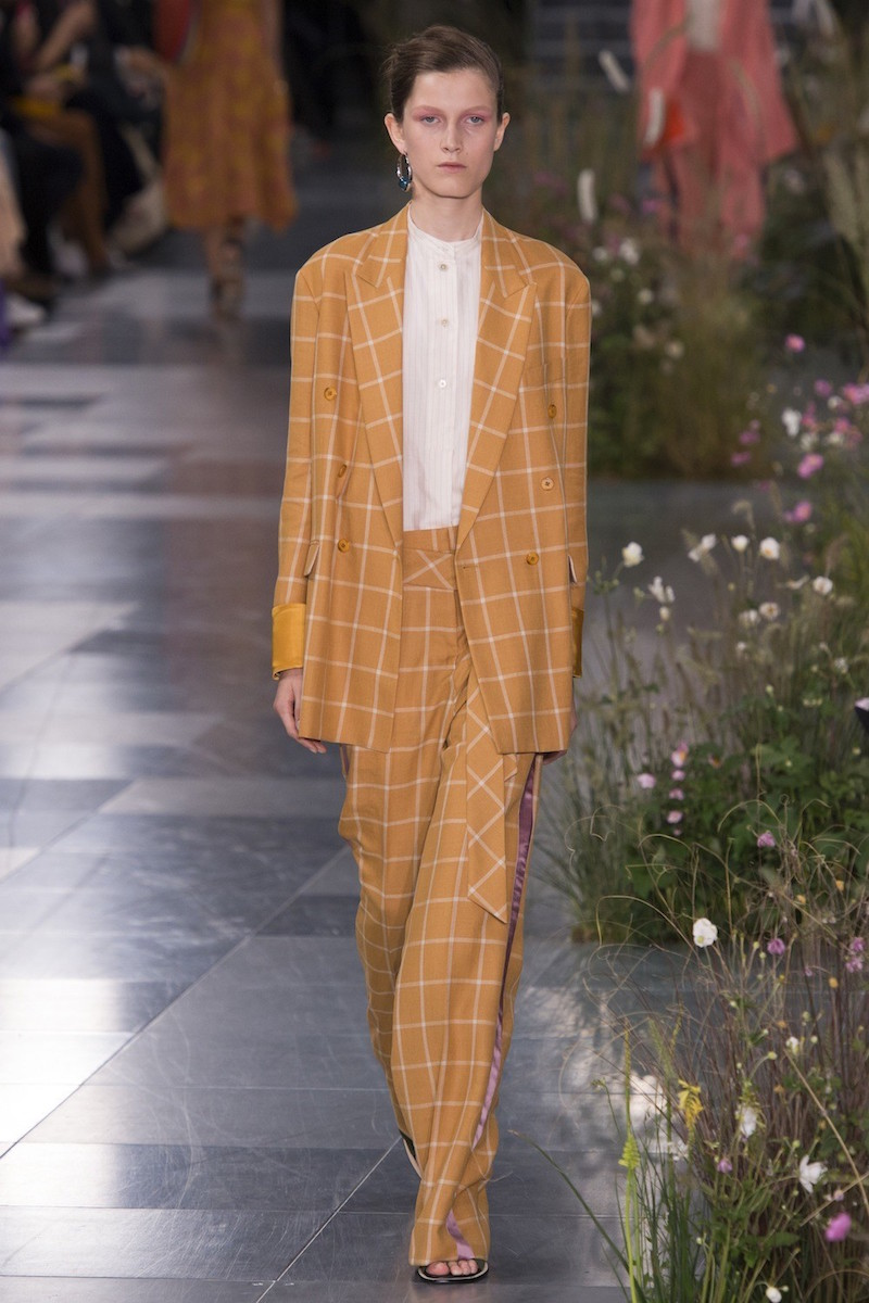 Paul Smith ss17 double-breasted check suit