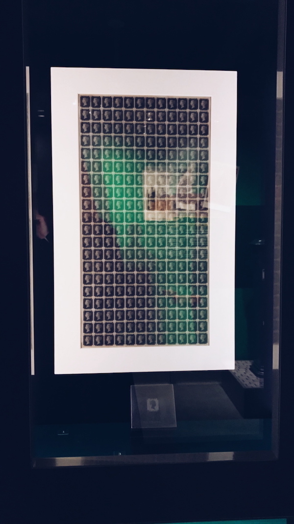 Penny Black proof sheet The Postal Museum London 2017