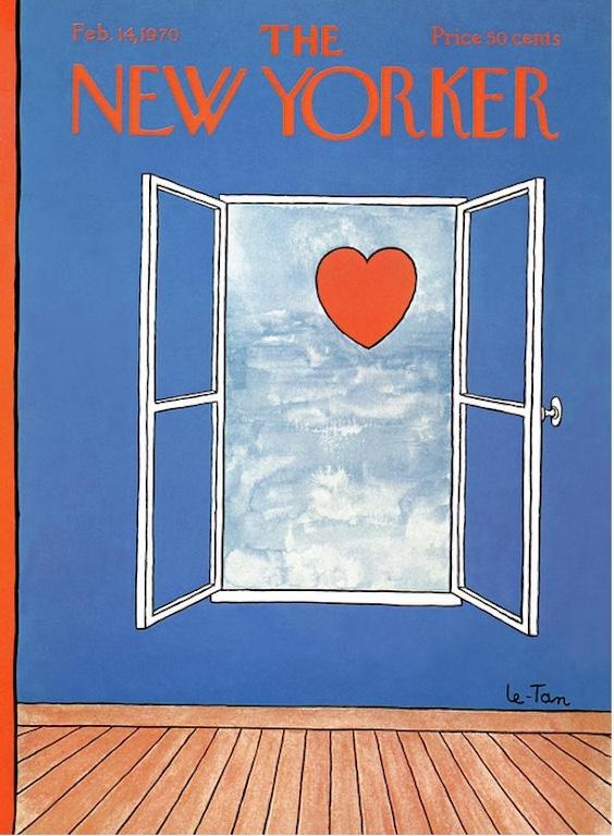 Pierre Le-Tan New Yorker Feb 14 1970