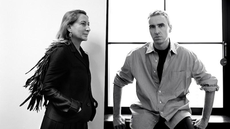 Prada announces co-creative directors - Miuccia Prada and Raf Simons