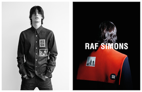 Raf Simons SS15 campaign
