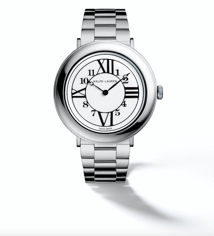 Ralph Lauren RL888 watch 32mm in Steel with Steel Bracelet gentlewoman style