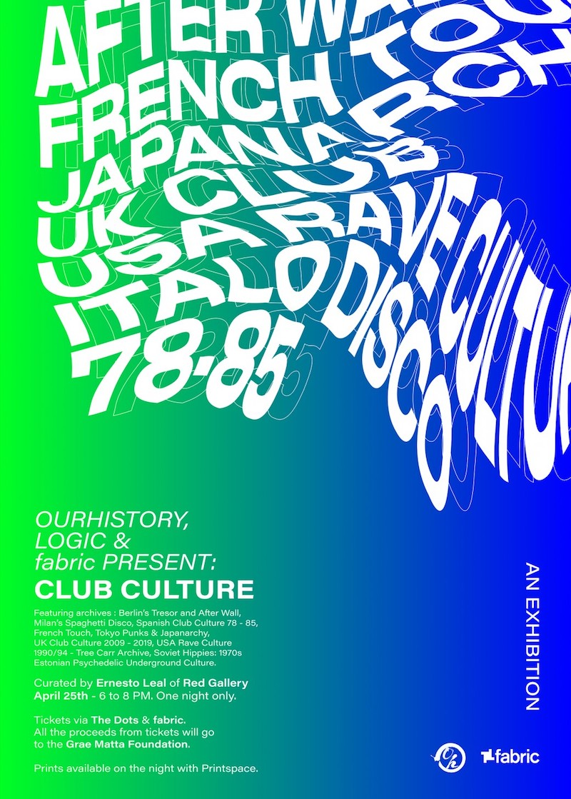 Red Gallery Club Culture exhibition
