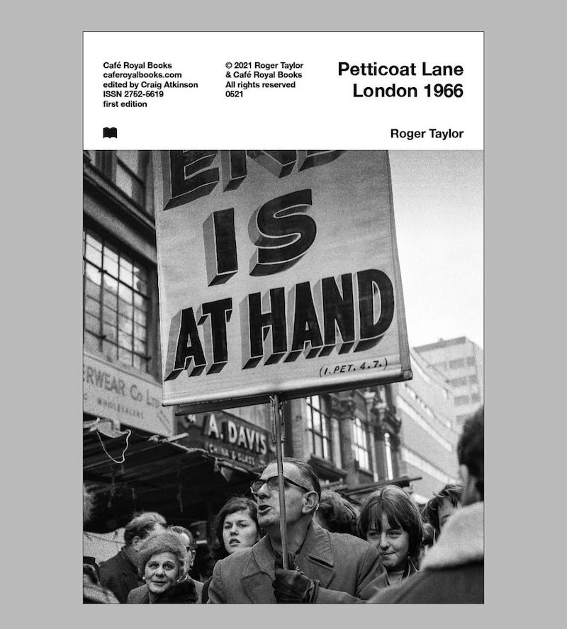 Roger Taylor Petticoat Lane London 1966