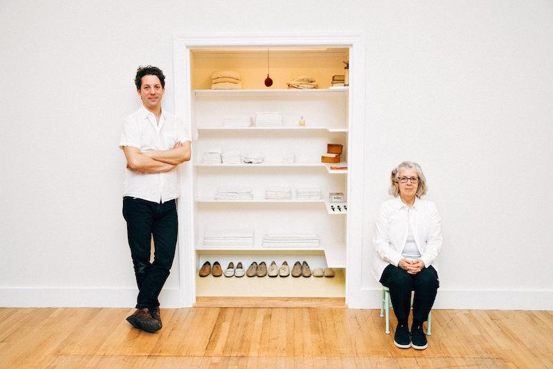 Sara Bermans Closet - photo via New York Times