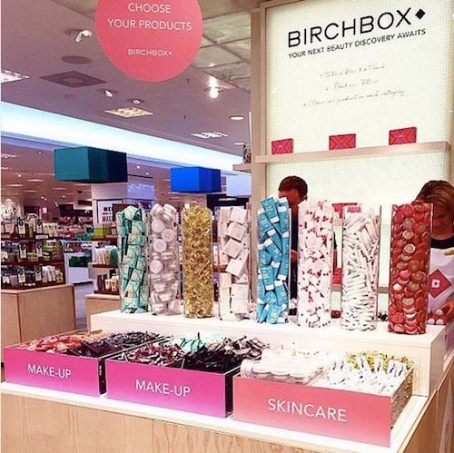 Selfridges Birchbox beauty box