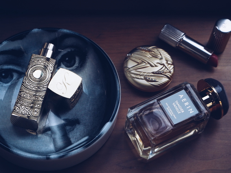 For a feminine but sexy fragrance i love In the Garden of Good and Evil by By Kilian. And also Tangier Vanille by Aerin