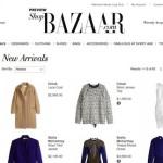 It's live! Harper's Bazaar launches ShopBazaar