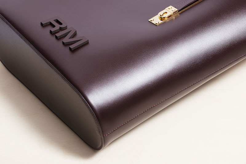 Sophie Hulme - Leather Letters Personalisation - The Exchange in Oxblood leather