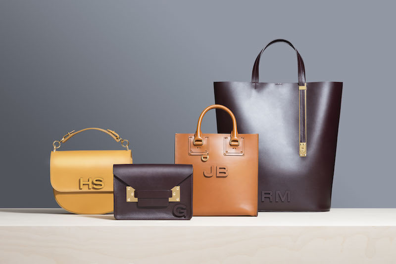 Sophie Hulme - Leather Letters Personalisation