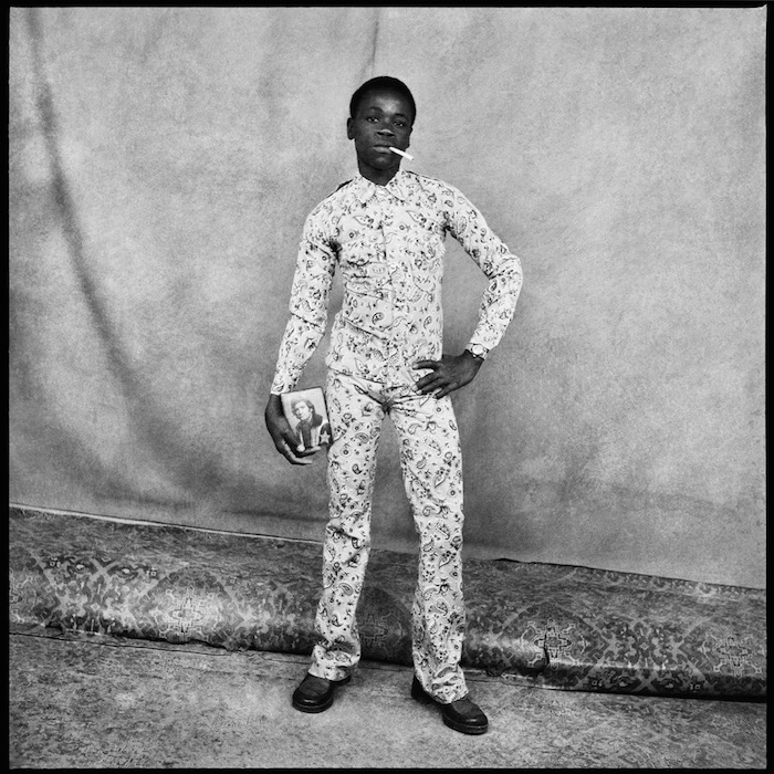 Sory Sanle Morton Hill Photo Gallery Jeune Fan DEddy Mitchell, 1974