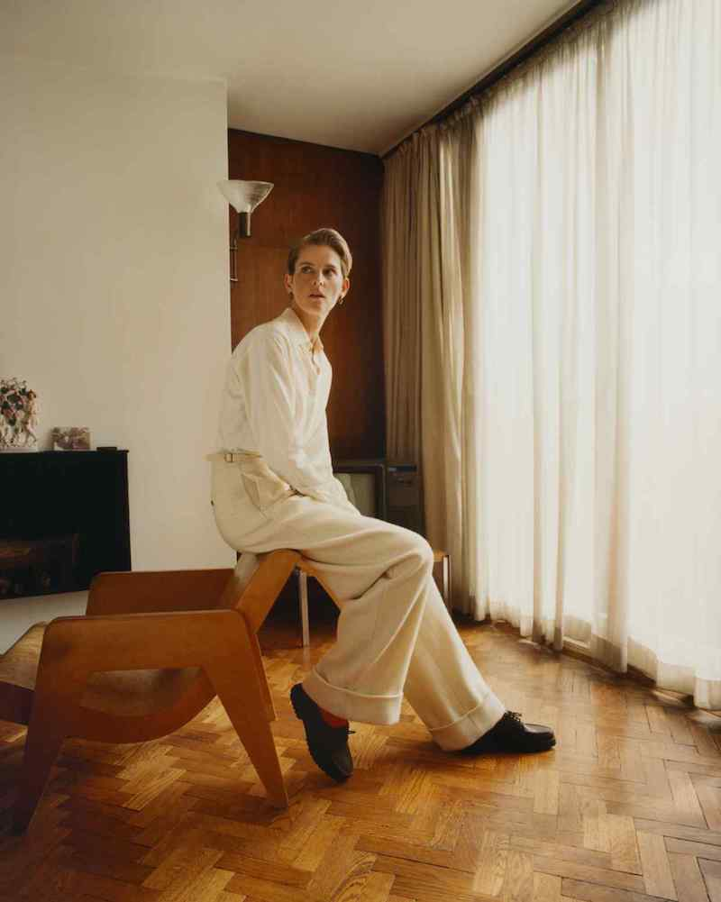 Stella Tennant in Holland & Holland by Tom Craig for How To Spend It