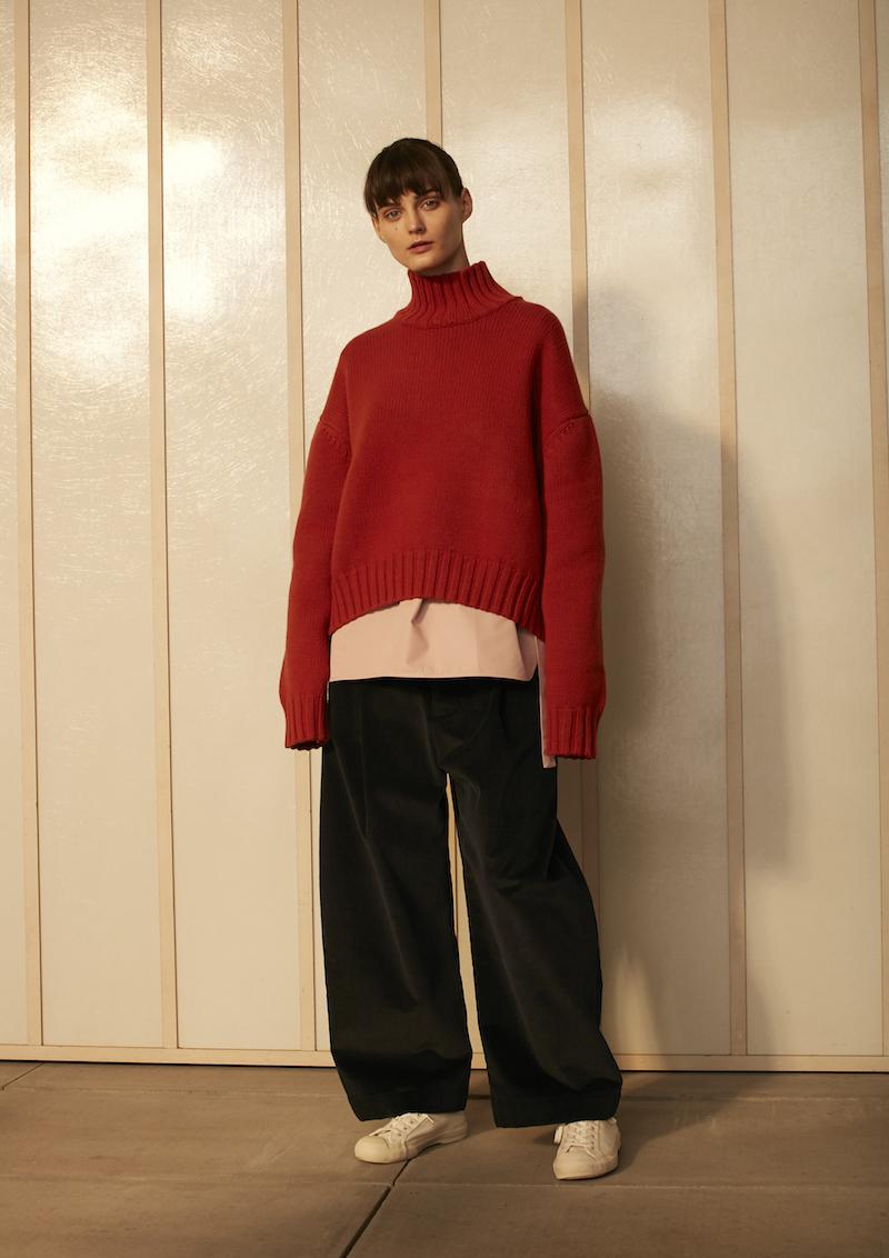 studio nicholson aw16 knitwear