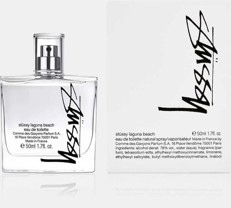 Stussy X Comme Des Garcons fragrance