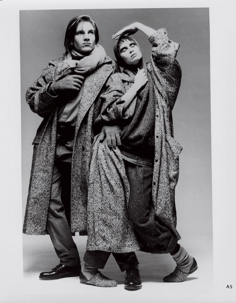 Sub-Urban WilliWear fall 1984 collection - photo by Max Vadukul