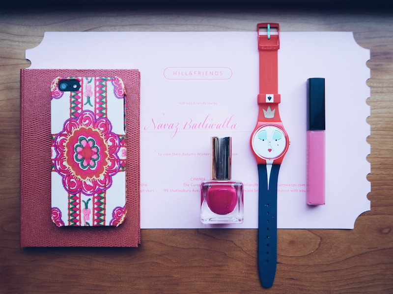 Swatch Wonderqueen watch I Always Want more Colour at London fashion week