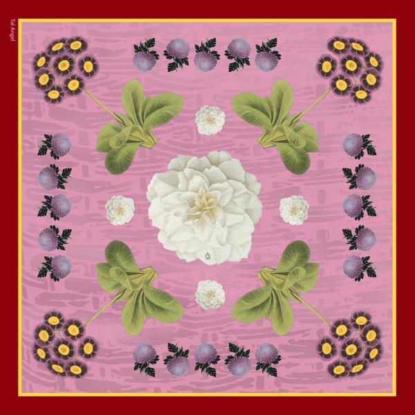 Tal Angel silk scarf