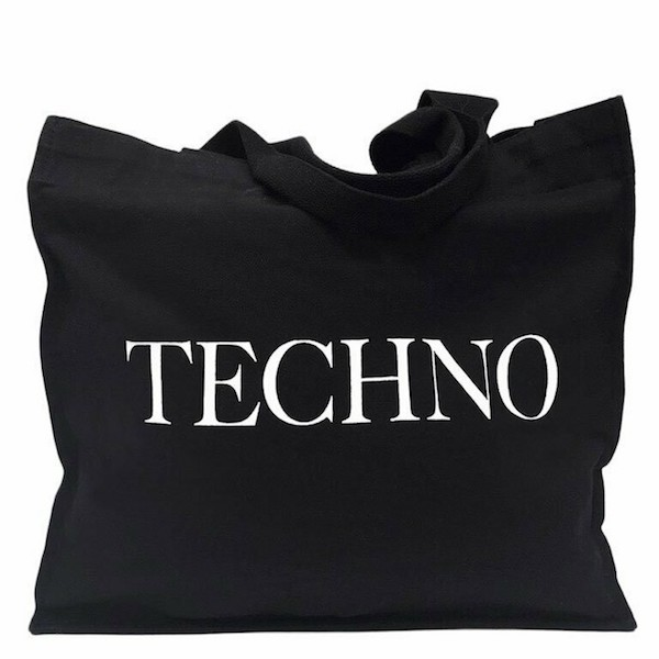 Techno tote bag Idea