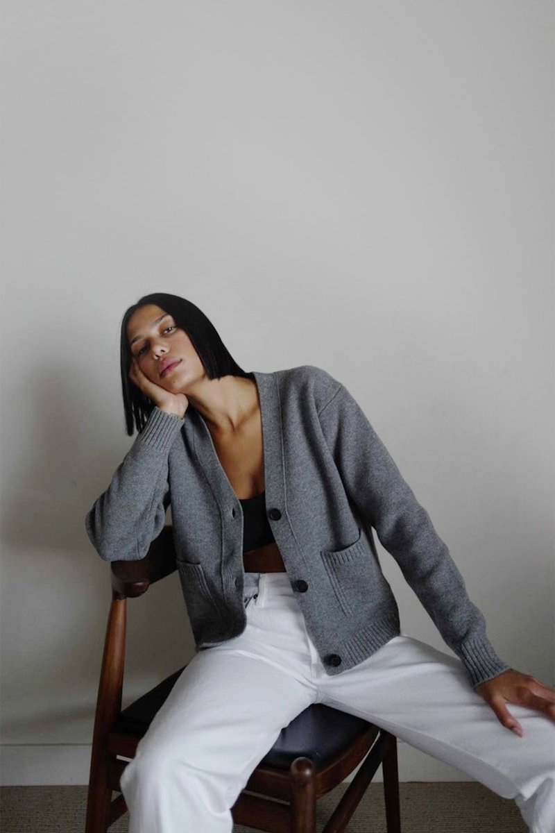 Thakoon cropped wool cardigan