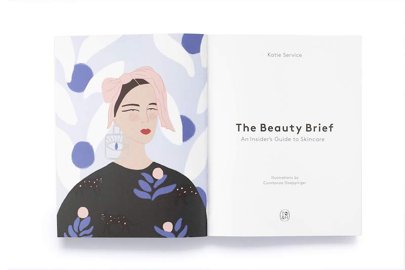 The Beauty Brief skincare book Katie Service