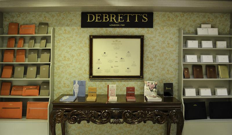 The Debrett¹s Drawing Room has opened at Harrods