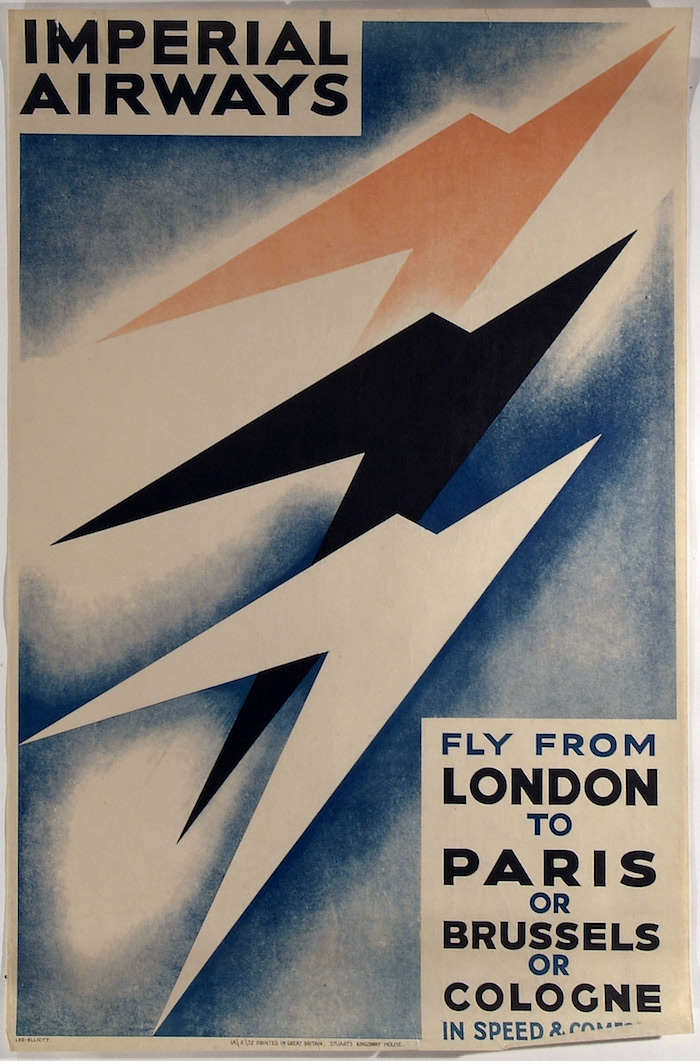 Theyre Lee-Elliott Imperial Airways poster