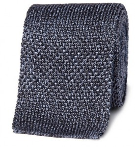 Burberry knitted tie ss12