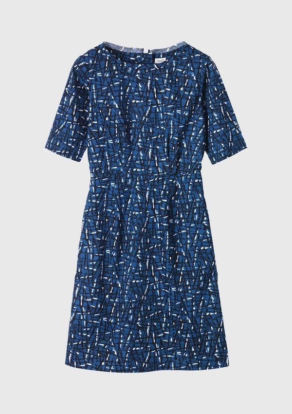 Toast-Hatch-Print-Dress