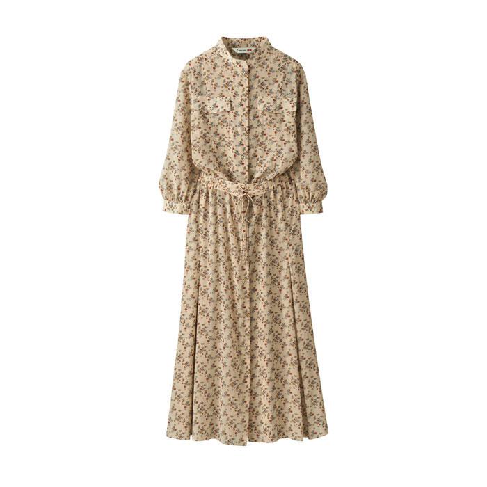 Tomas Maier X Uniqlo print dress
