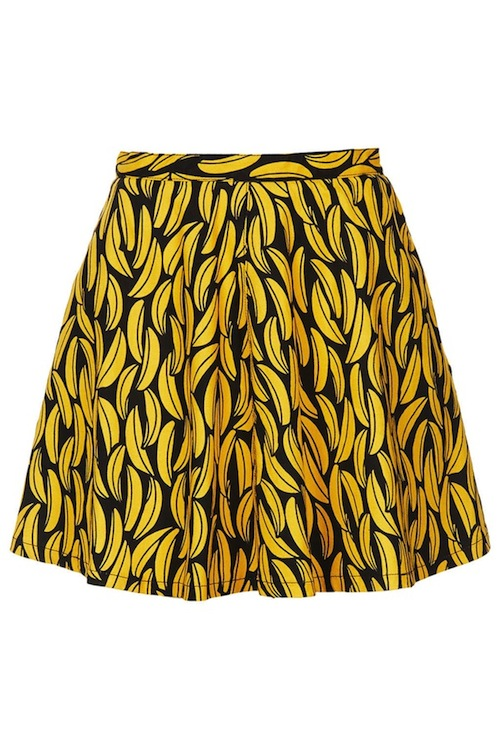 Topshop-Banana-Skirt